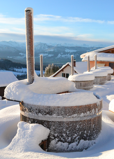 Silvesterzauber im Alpenbad