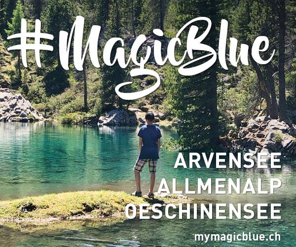 #MagicBlue - 3 Sommer-Erlebnisse in Kandersteg