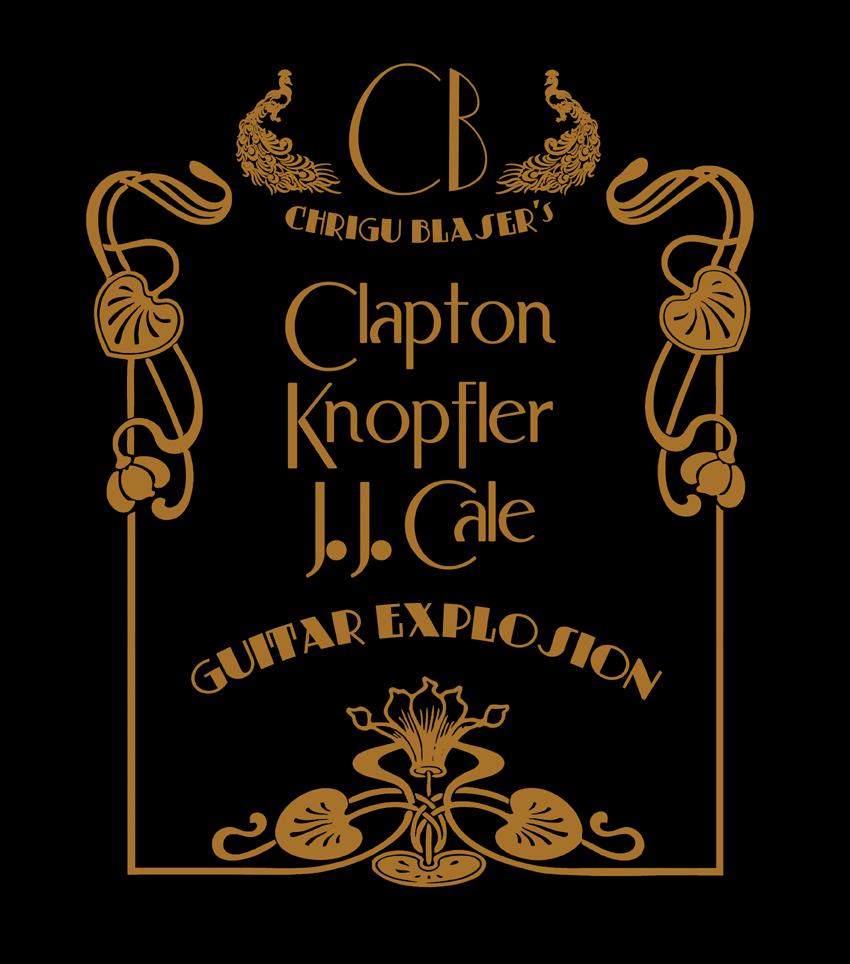 Chrigu Blaser's CLAPTON / KNOPFLER / J.J.CALE Guitar Explosion