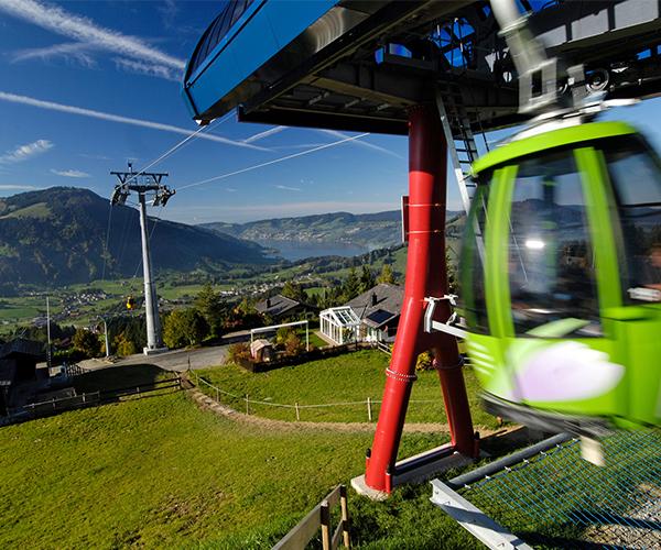 Gondola ascent or descent (Sommer 2021)