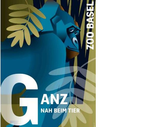 Werbeplakate Zoo Basel