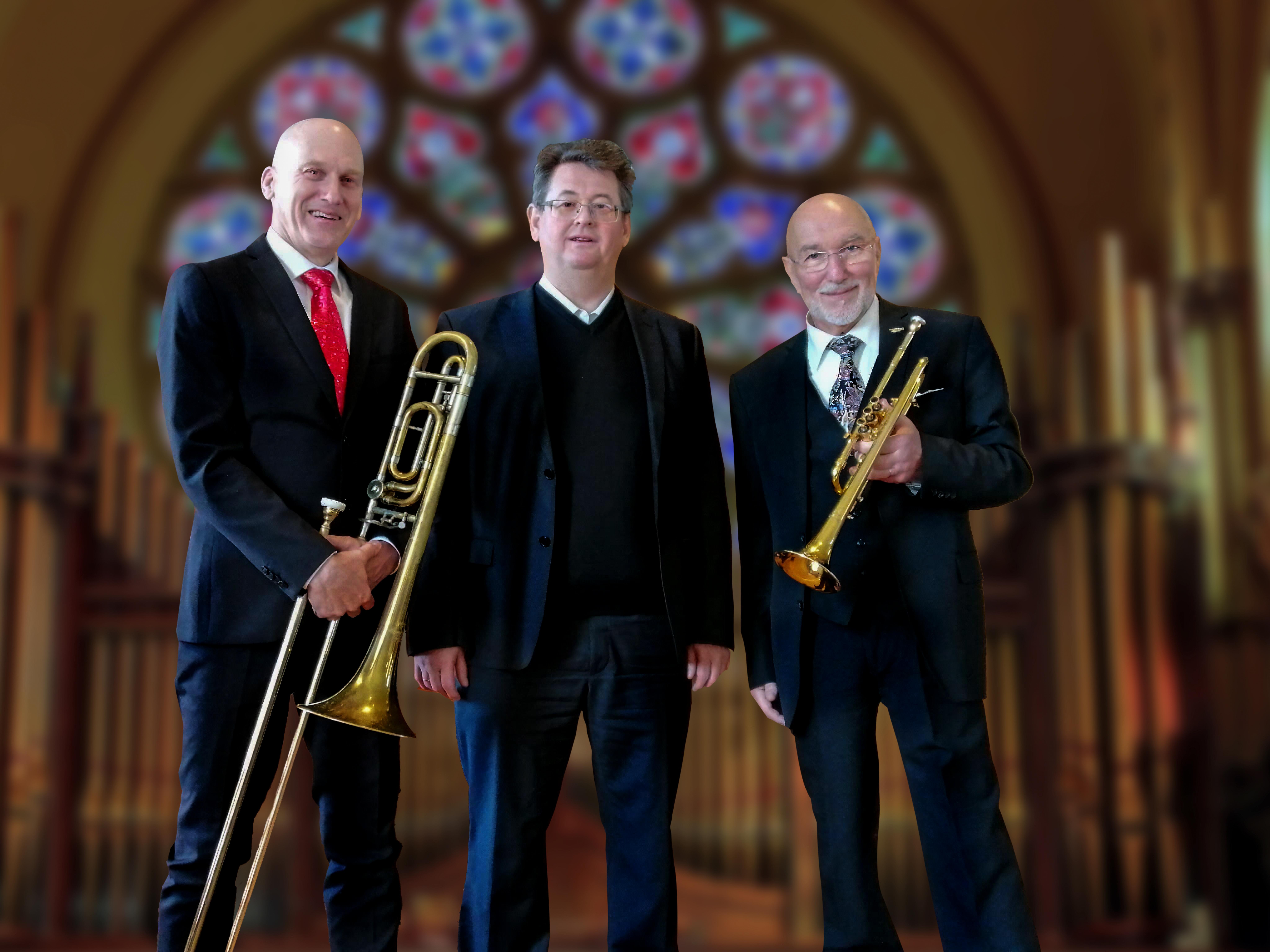 Claude Rippas, Trompete, Flügelhorn und Diskanthorn John Loretan, Posaune und Alphorn / Dieter Hubov, Orgel