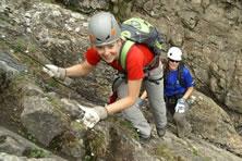 Klettersteig Adelboden : Bergbahnen engstligenalp ag klettersteig combo