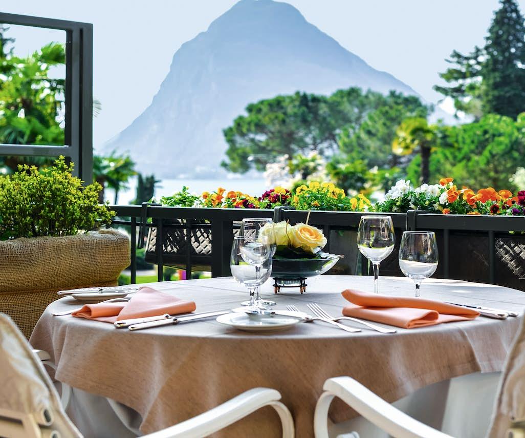 Grand Hotel Villa Castagnola Degustationsmen Uuml Im Br